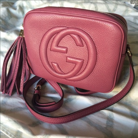 05cb7b67264 GUCCI DISCO SOHO CAMERA BAG